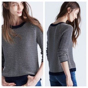 Madewell Dockline Striped Sweater